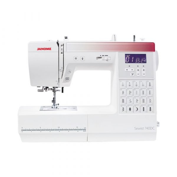 Janome sewist 740DC front
